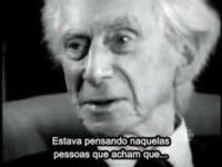 Bertrand Russell fala sobre religião